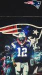 Wallpaper Tom Brady Super Bowl iPhone