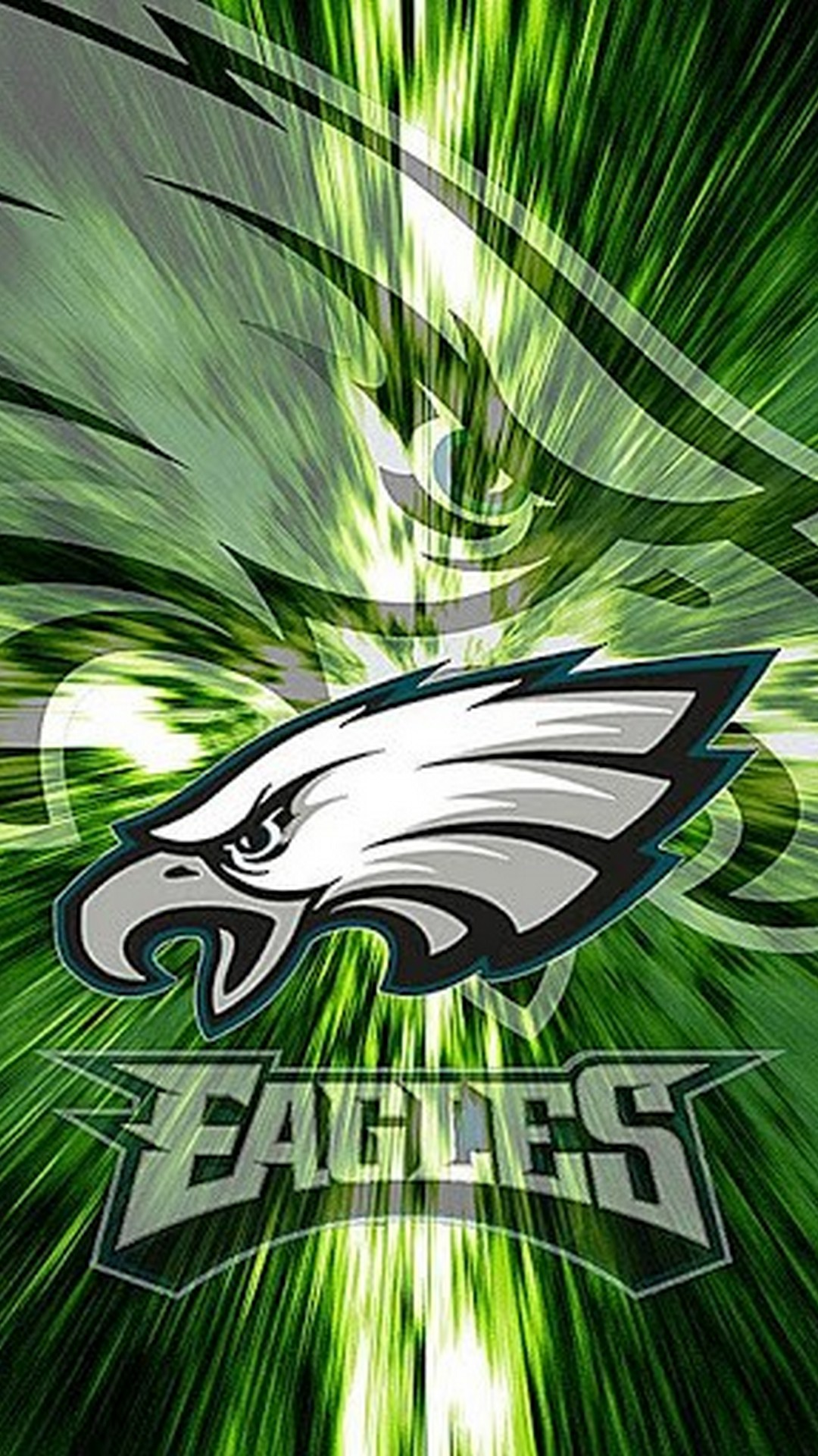 Philadelphia Eagles iPhone 8 Wallpaper with resolution 1080x1920 pixel. You can make this wallpaper for your Mac or Windows Desktop Background, iPhone, Android or Tablet and another Smartphone device