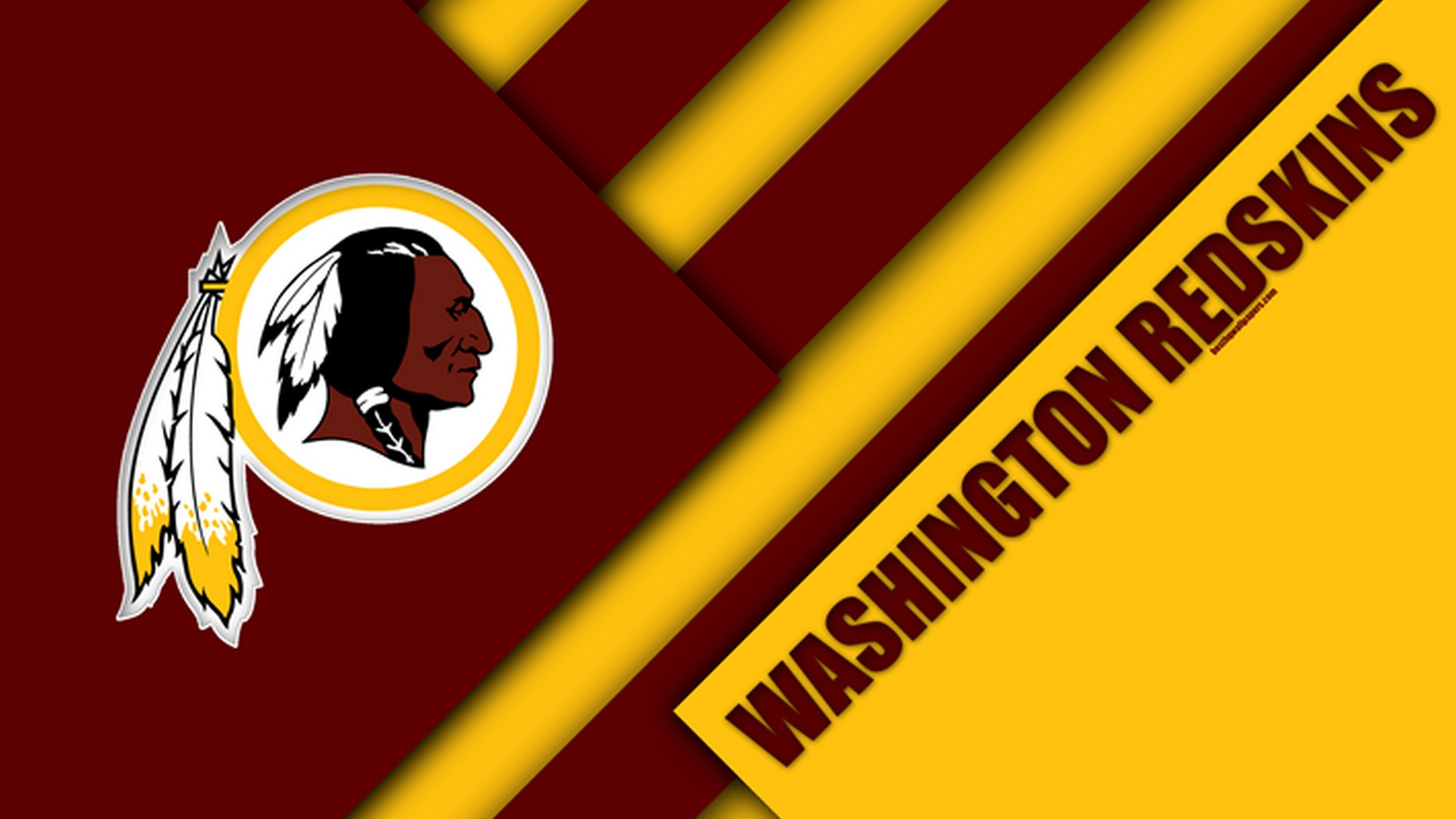 Washington Redskins Wallpaper with high-resolution 1920x1080 pixel. You can use this wallpaper for your Mac or Windows Desktop Background, iPhone, Android or Tablet and another Smartphone device